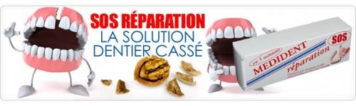 reparation dentier